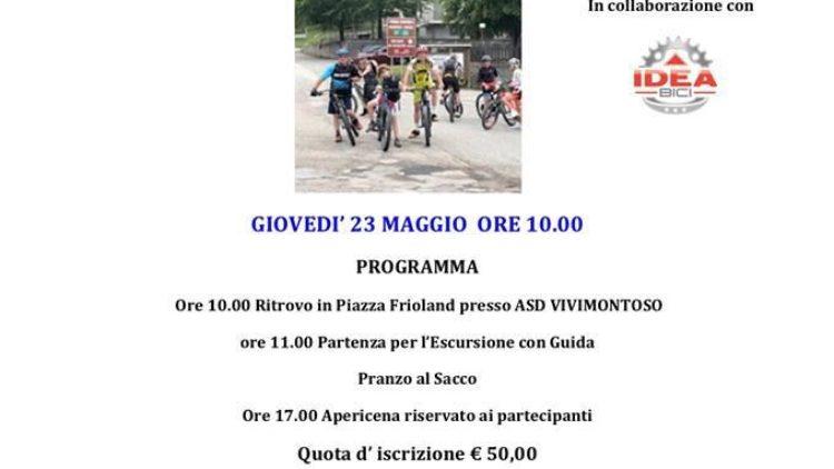 …Aspettando il GIRO D'ITALIA Escursione guidata con le e-bike