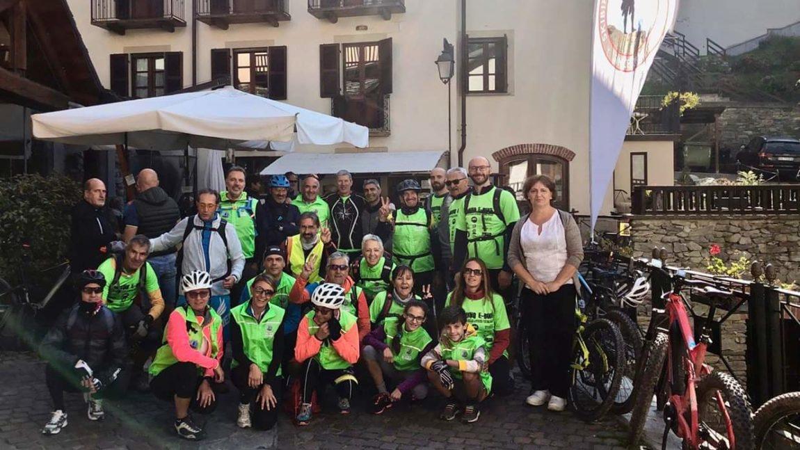 TOUR E-BIKE SAN GIACOMO DI  ROBURENT CON MERENDA SINOIRA – DOMENICA 9 GIUGNO 2019