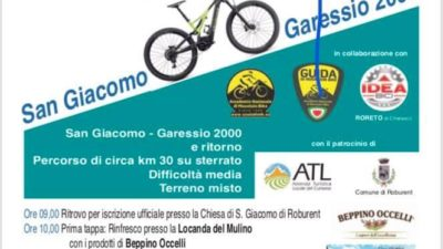 E-BIKE – TOUR DEL RE – SAN GIACOMO DI ROBURENT 23 GIUGNO 2019