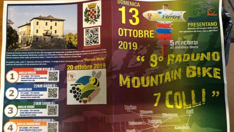"""9° RADUNO MOUNTAIN BIKE 7 COLLI"""